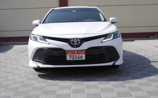 Toyota Camry (White), 2019 for rent in Dubai