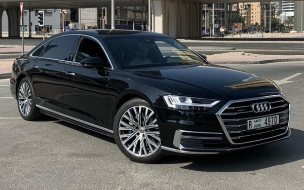Audi A8 (Black), 2018 for rent in Dubai