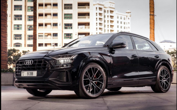 Audi Q8 (Black), 2020 for rent in Dubai