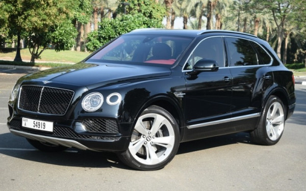 Bentley Bentayga (Black), 2019 for rent in Dubai