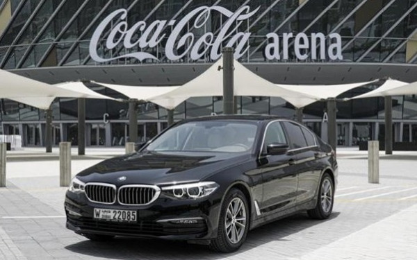 BMW 5 Series (Black), 2019 for rent in Dubai