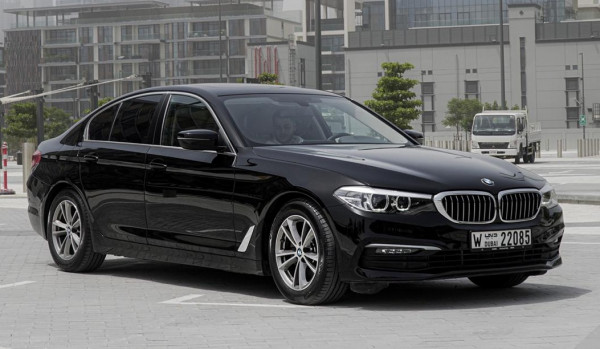 BMW 520 (Black), 2019 for rent in Dubai