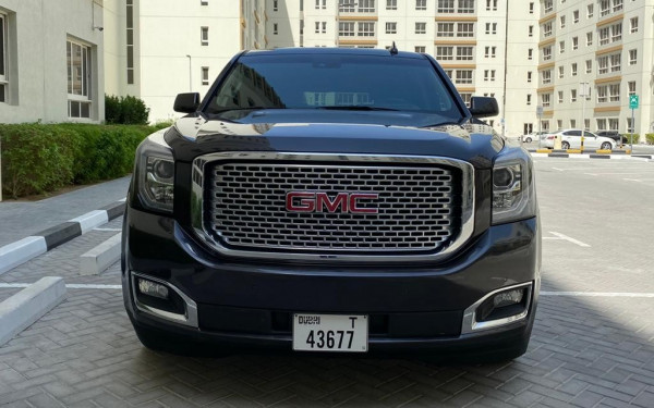 GMC Denali (Brown), 2018 for rent in Dubai