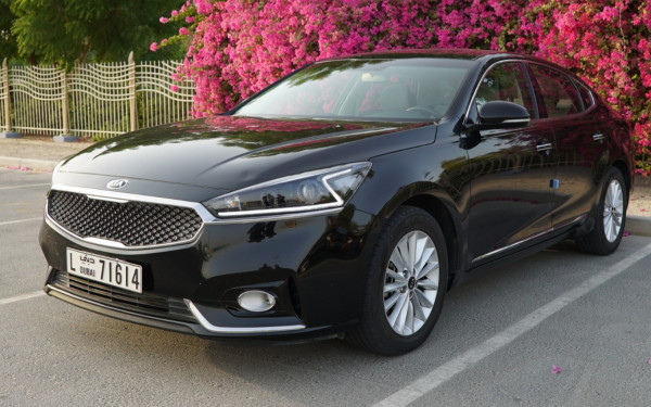 Kia cadenza (Black), 2020 for rent in Dubai