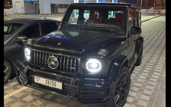 Mercedes G63 AMG (Black), 2020 for rent in Dubai