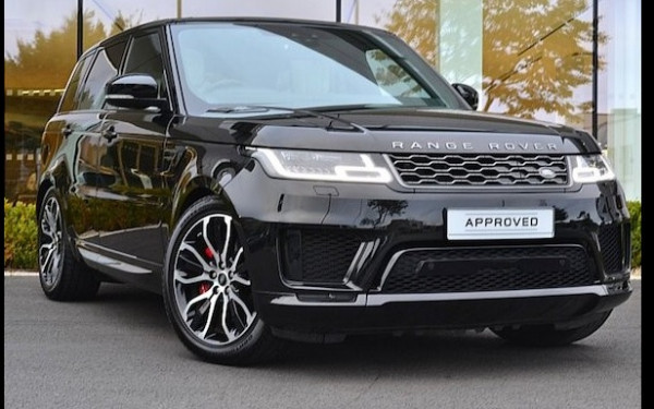 Range Rover Sport (Black), 2019 for rent in Dubai