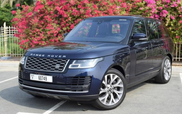 Range Rover Vogue (Blue), 2019 for rent in Dubai