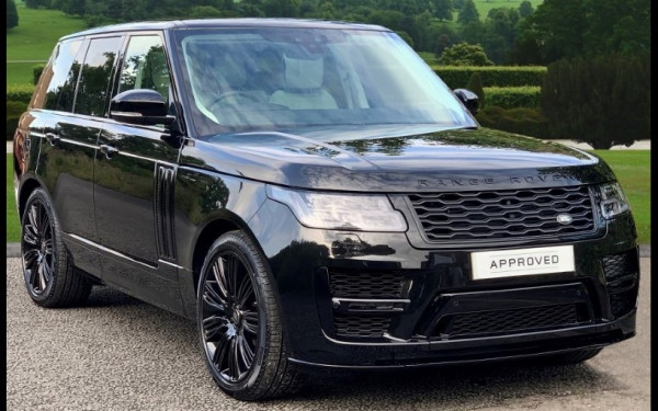 Range Rover Vogue (Black), 2019 for rent in Dubai