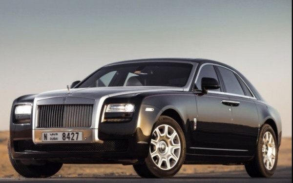 Аренда Rolls Royce Ghost (Черный), 2018 в Дубае