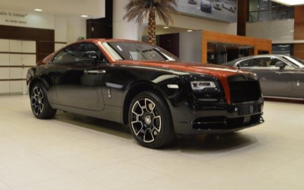 Аренда Rolls Royce Wraith-BLACK BADGE ADAMAS 1 OF 40 (Черный), 2020 в Дубае