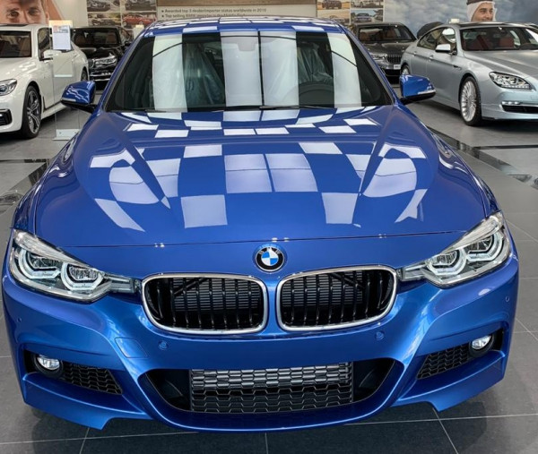 BMW 318 (Blue), 2019 for rent in Dubai