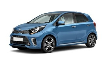 KIA Picanto (Blue), 2020 for rent in Dubai