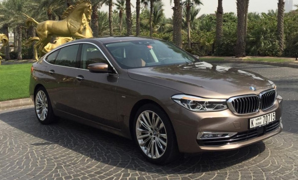 BMW 640 GT (Brown), 2019 for rent in Dubai