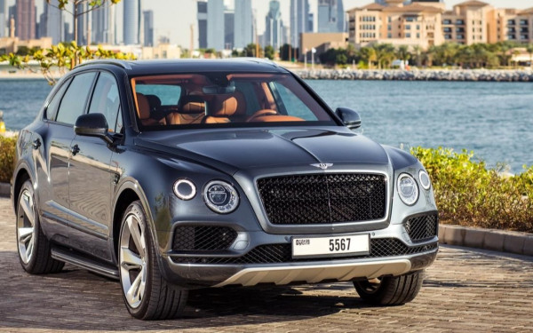 Bentley Bentayga (Grey), 2019 for rent in Dubai