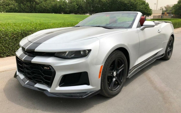 Chevrolet Camaro (Grey), 2018 for rent in Dubai