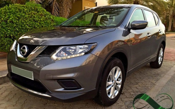 Nissan Xtrail (Grey), 2015 for rent in Dubai