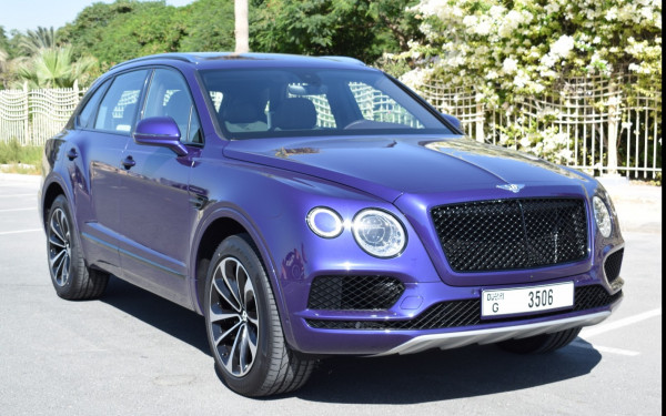 Аренда Bentley Bentayga (), 2020 в Дубае