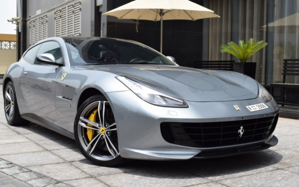Ferrari GTC4 Lusso (Silver), 2018 for rent in Dubai