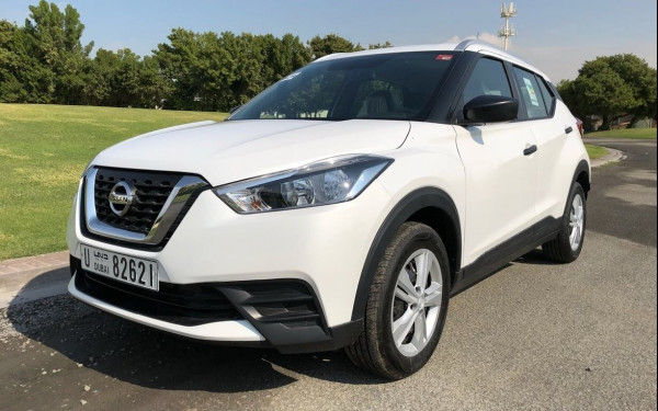 Nissan Kicks (White), 2018 for rent in Dubai