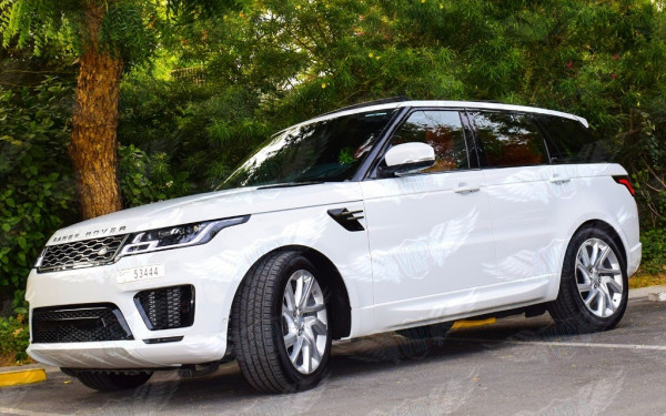 Range Rover Sport Supercharged (White), 2019 for rent in Dubai