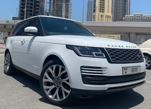 Аренда Range Rover Vogue Supercharged (Белый), 2019 в Дубае
