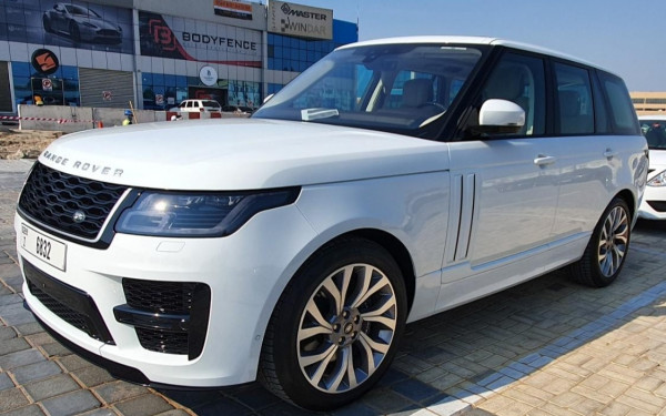 Range Rover Vogue (White), 2020 for rent in Dubai