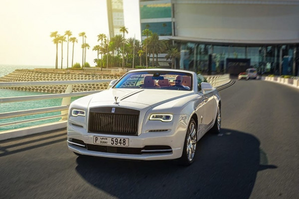 Rolls Royce Dawn (White), 2017 for rent in Dubai