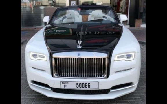 Rolls Royce Dawn Convertible (White), 2019 for rent in Dubai