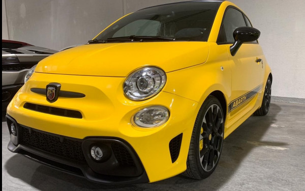 Fiat 595 Abarth (Yellow), 2020 for rent in Dubai