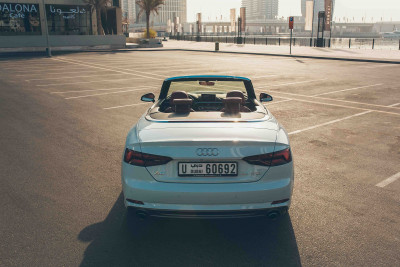 hire Audi A5 Cabriolet (White), 2018 in Dubai price