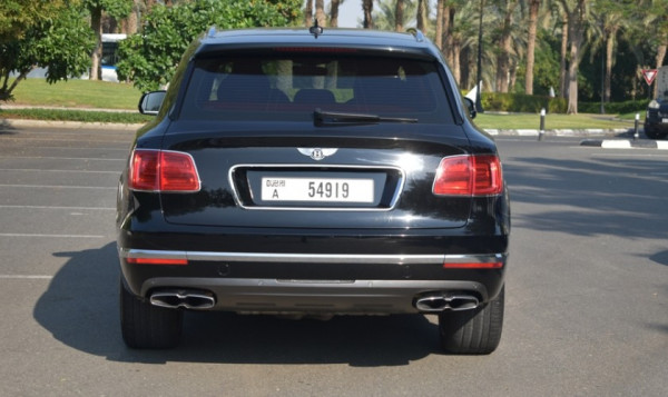 rental Bentley Bentayga (Black), 2019 in Dubai