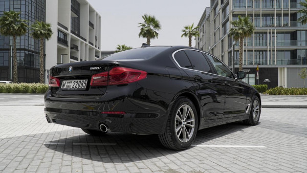 hire BMW 5 Series (Black), 2019 in Dubai