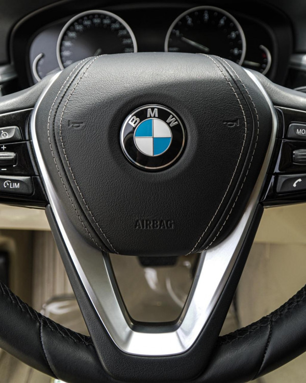 rental BMW 5 Series (Black), 2019 in Dubai