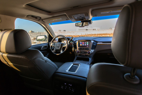 GMC Denali (Brown), 2018 for rent in Dubai price