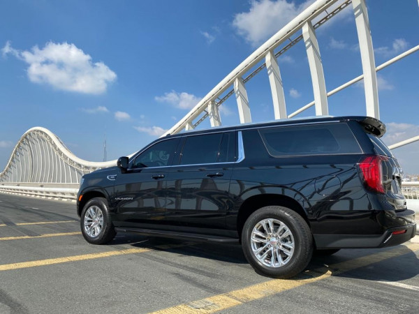 GMC Yukon XL (Black), 2021 for rent in Dubai