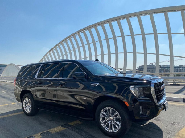 hire GMC Yukon XL (Black), 2021 in Dubai