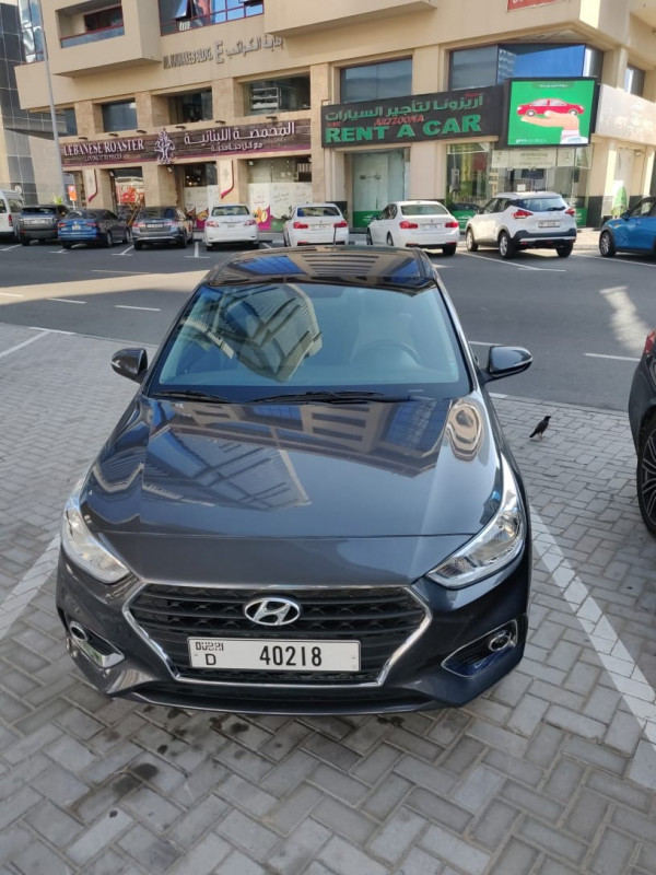 Hyundai Accent (Black), 2020 for rent in Dubai