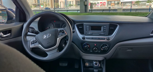 hire Hyundai Accent (Black), 2020 in Dubai