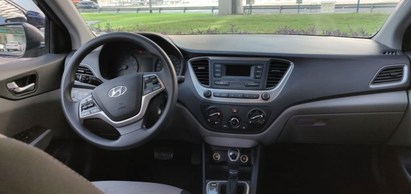 hire Hyundai Accent (Black), 2020 in Dubai price
