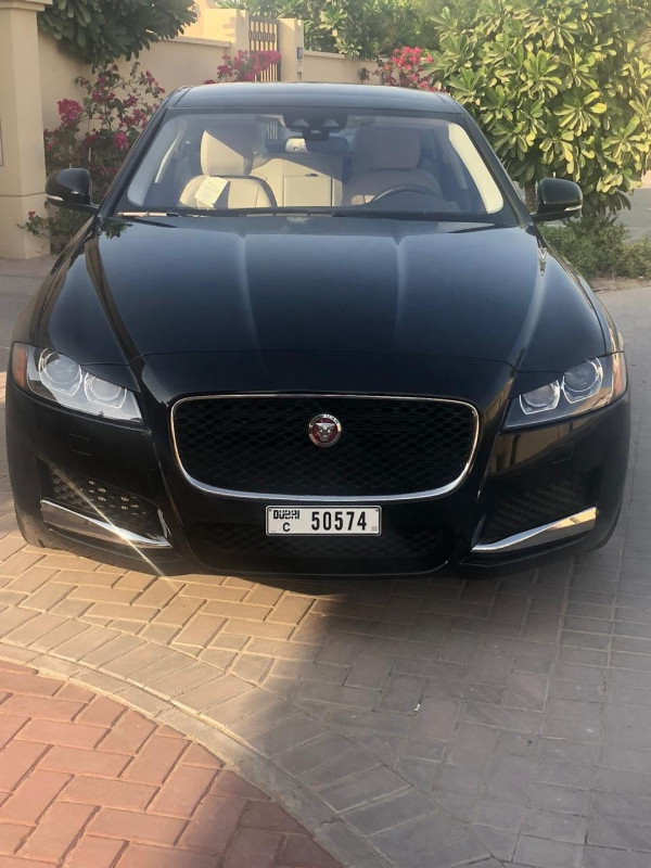 Jaguar XF (Black), 2019 for rent in Dubai price