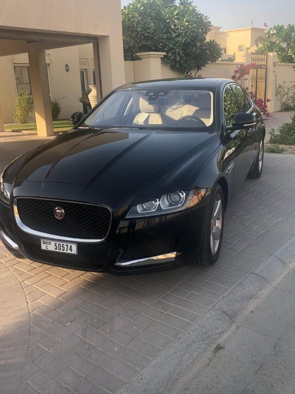 rental Jaguar XF (Black), 2019 in Dubai price
