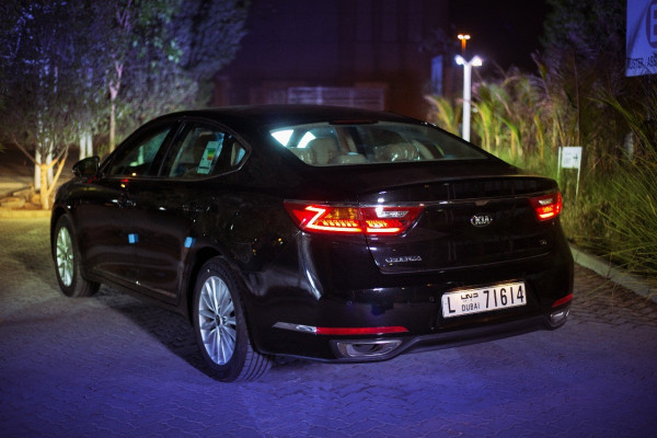 cheap rental Kia cadenza (Black), 2020 in Dubai