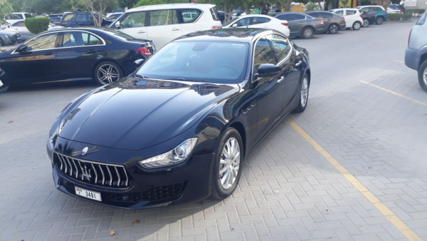 Maserati Ghibli (Black), 2019 for rent in Dubai