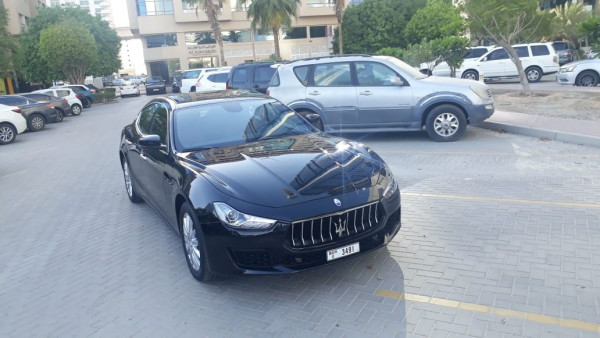 rental Maserati Ghibli (Black), 2019 in Dubai