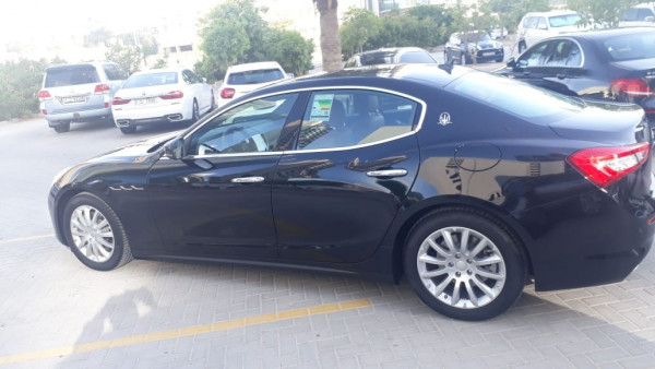Maserati Ghibli (Black), 2019 for rent in Dubai price