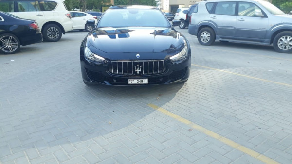 rental Maserati Ghibli (Black), 2019 in Dubai price