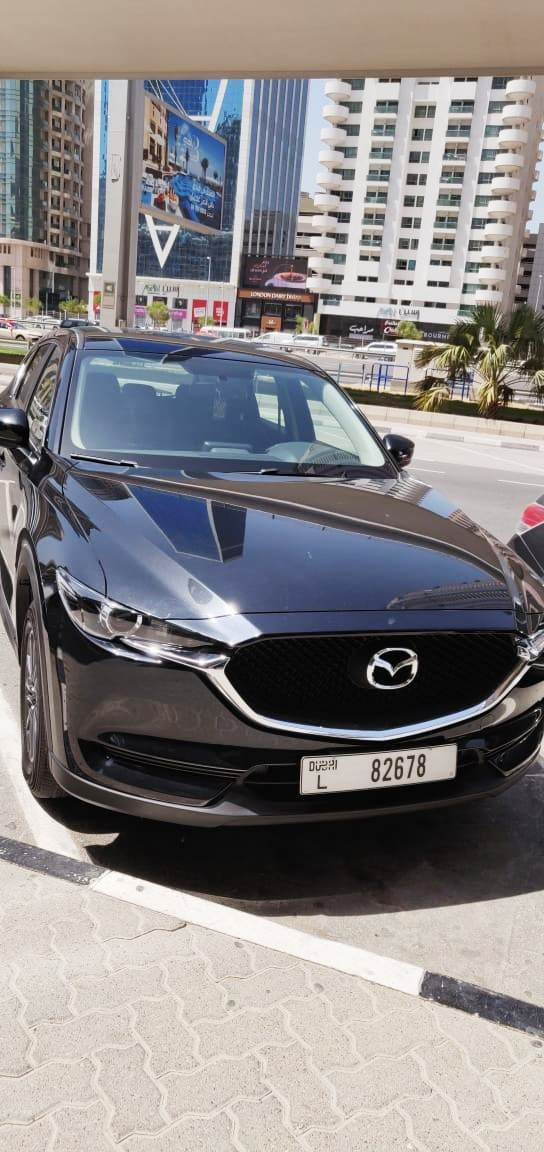 Mazda CX5 (Black), 2020 for rent in Dubai