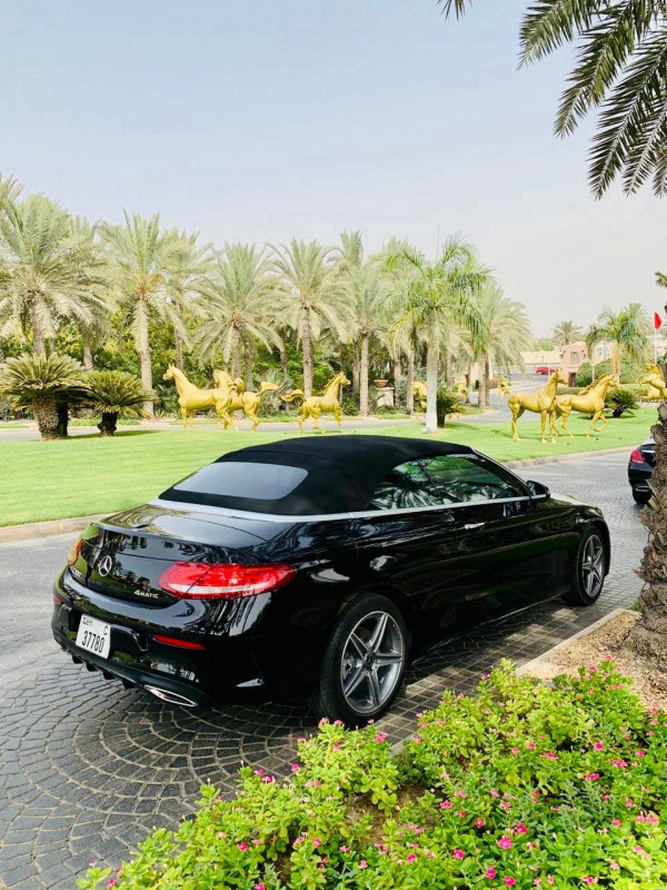 Mercedes C Class (Black), 2018 for rent in Dubai