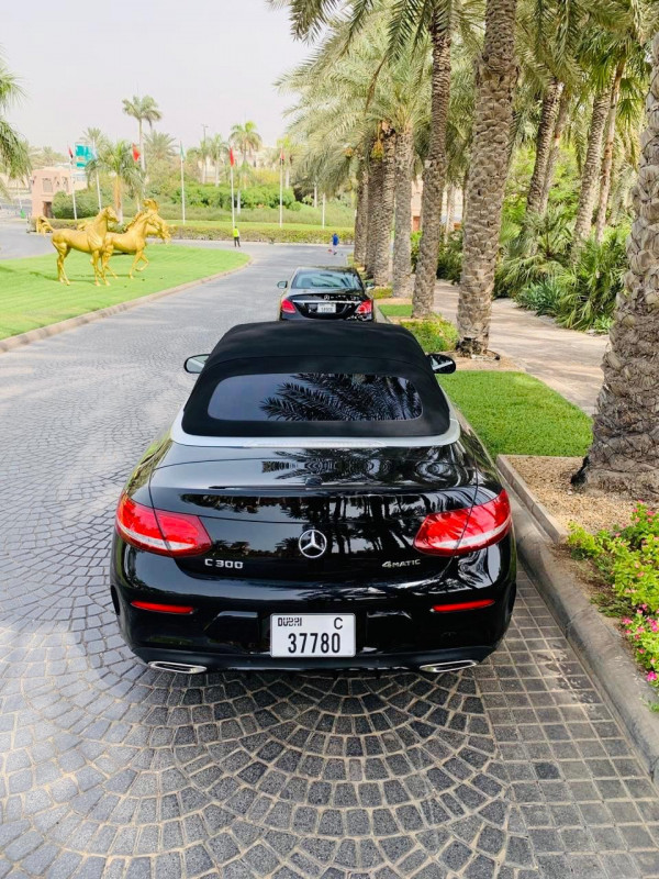 hire Mercedes C Class (Black), 2018 in Dubai