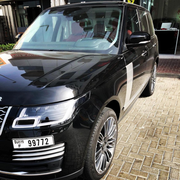 hire Range Rover Autobiography (Black), 2019 in Dubai
